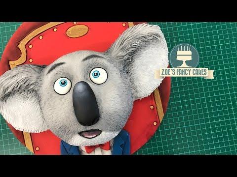Koala Buster Moon Sing Cake Tutorial