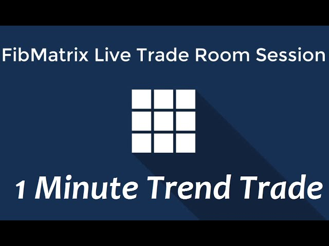 1m Trend Trades Forex Scalping Video FibMatrix Forex Day Trading Software and Trading Room – Part 1