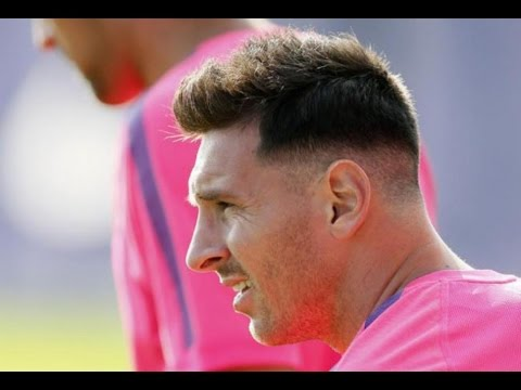 Messi Hairstyle 2015 Youtube