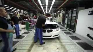BMW 3er E90 Produktion im Zeitraffer - einmal im Schnelldurchlauf durchs BMW Werk
