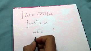 integral of ln x sqrt 1 x 2