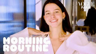 Léa Elui, the most followed French girl on social media's morning routine | Vogue Paris