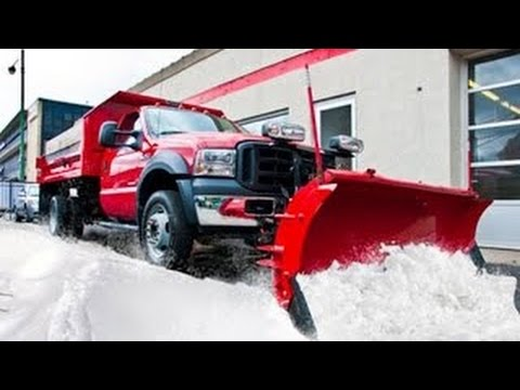 Amazing snow removal machines 2016, awesome snow blowers in deep snow