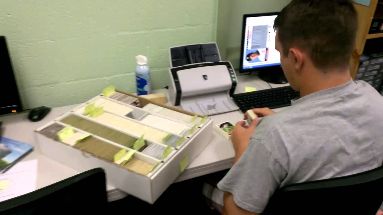 Sportscards Scanning Project