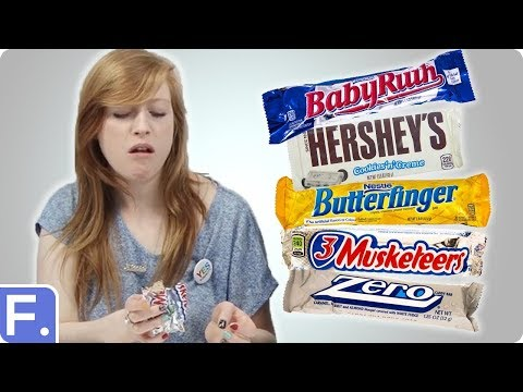 Irish People Taste Test American Chocolate Bars