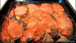Sunday Dinner Pineapple Pork-OVEN BAKED !!