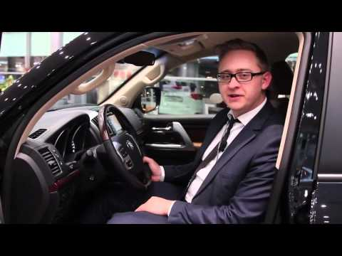 ОБзор Toyota Land Cruiser 200 (Салон города чита)