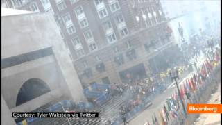Boston Marathon Site of Two Explosions: On the Scene