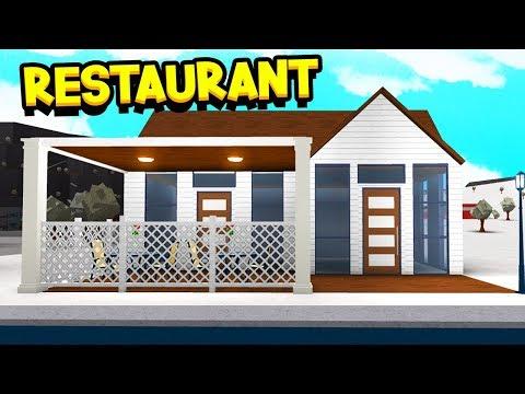 Robloxbloxburg 10000 House New Tutorial - Opening My Own Restaurant In Bloxburg Roblox Youtube