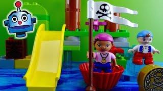 Jake y los Piratas LEGO Pack 2 Juegos de Bloques - Juguetes de Jake