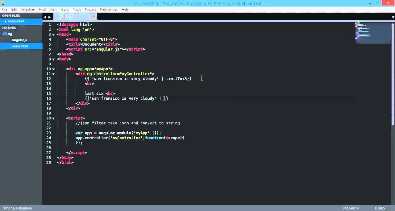 angularjs filter limitTo limit texts, reverse, array 720p