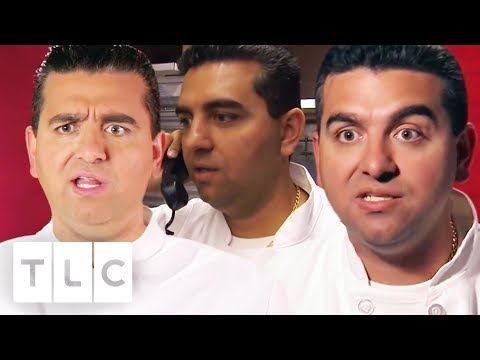 Buddy Valastro's Maddest and Craziest Moments! | Cake Boss