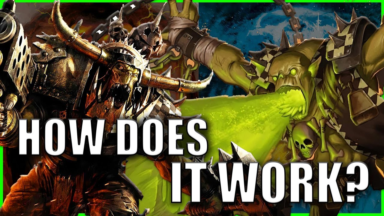 The WAAAGH EXPLAINED By An Australian | Warhammer 40k Lore