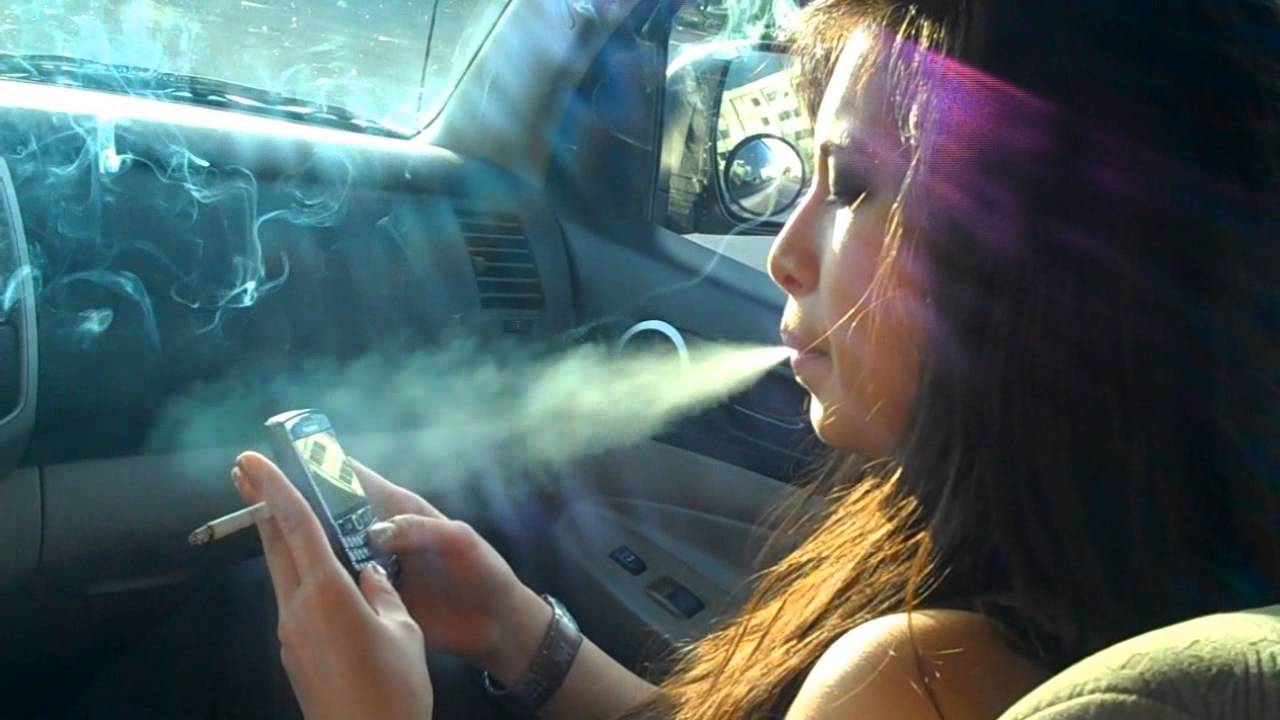 Malvina Sexy Smoking Film Director - Youtube-5627