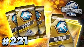 20 VIP PACK OPENINGS!!! || Jurassic World - The Game - Ep221 HD