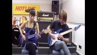"D_Drive ""Cassis Orange""のギターカラオケで弾いてみた!!"