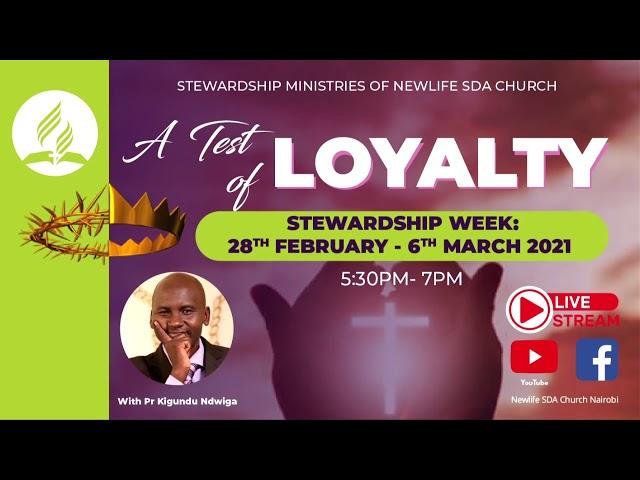 A Test of Loyalty || Steve Rundu || Day 001