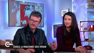 Zineb El-Rhazoui et Luz sur la renaissance de Charlie Hebdo - C à vous - 24/02/2015