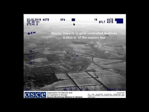 OSCE SMM UAV night observations