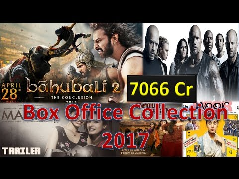 Thumbnail: Box office collection of Baahubali 2, Fast and Furious 8, Noor, Begum jaan, MAATR etc 2017