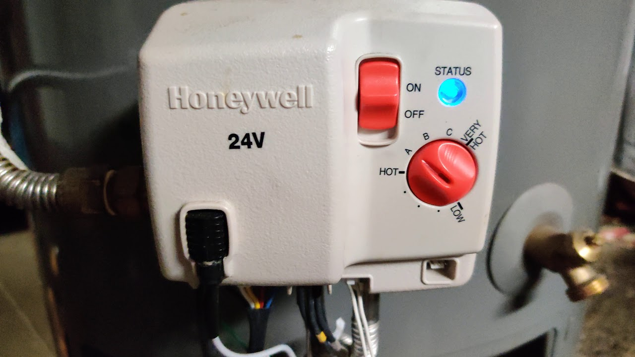 Honeywell Water Heater Status Light Blinking Blue