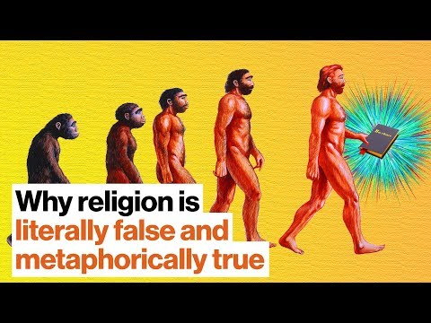 Why religion is literally false and metaphorically true | Bret Weinstein