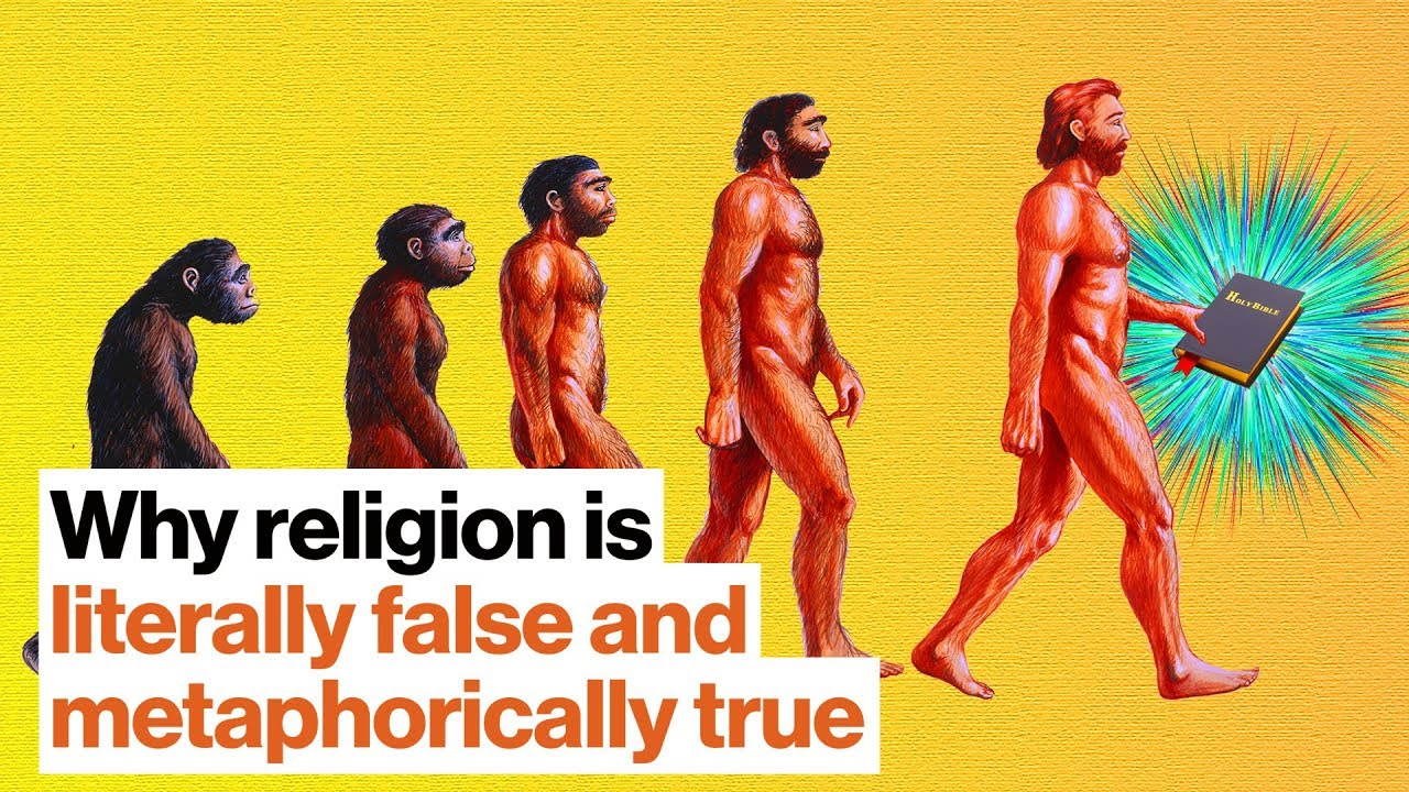 Why religion is literally false and metaphorically true   Bret Weinstein   Big Think