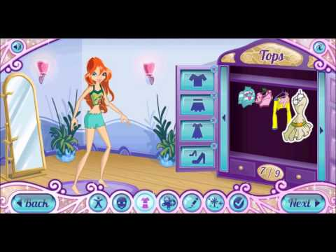 Winx Club Dress Up- Nick