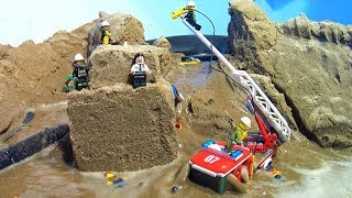 LEGO CITY FIRE RESCUE. LEGO DAM BREACH FILM