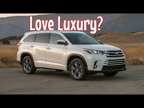 Toyota Highlander Limited Awd Review And In Depth