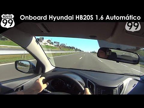 HYUNDAI HB20S 1.6 AUTOMÁTICO 2016 - Avaliação Onboard
