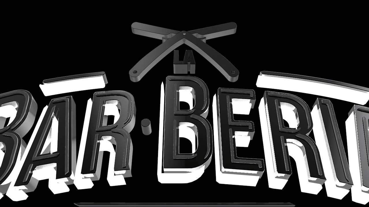 animacion logo 3d la