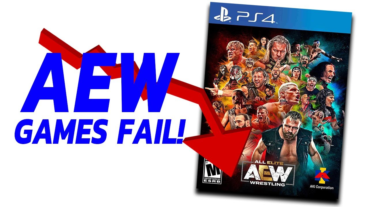 AEW Games Has Put AEW In Financial Difficulty...Fired WWE Superstars In WWE 2K22