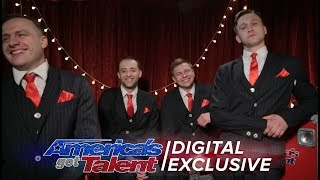 Acrobatic Group The Godfathers are Delighted with Their AGT Performance - America's Got Talent 2017