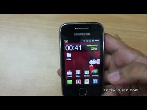 Samsung Galaxy Y Budget Android Phone Hands On