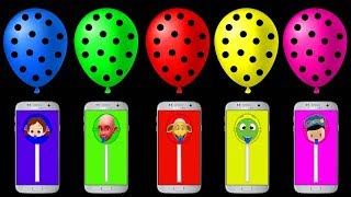 Niloya ve Renkli Telefonlarla ile Renkleri Öğreniyoruz..