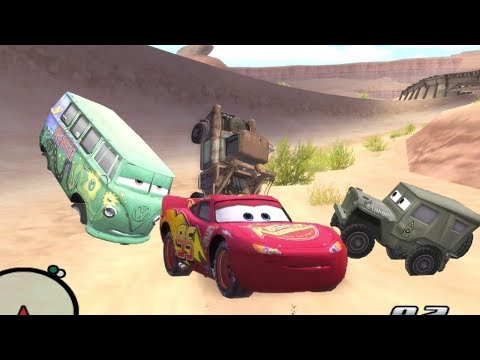 Disney Pixars Cars Movie Game - Sleepy Mcqueen 26 - Instant Nap with Vertical Mater and Houdini Sarg