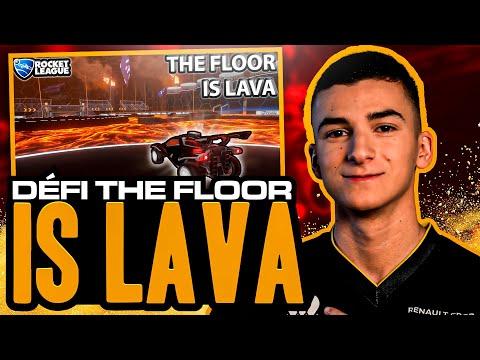 DÉFI THE FLOOR IS LAVA CONTRE EVERSAX - Dribbling Challenge