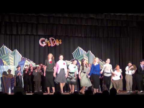 Guys and Dolls Scene 15 Broadway Day- Finale -  Monsignor Slade Catholic School