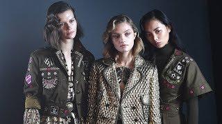 London Fashion Week BAFTA's All Black Nowhere to be Seen at Mary Katrantzou, Temperley, Preen