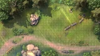 forest battle map