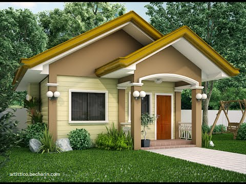 101 ideas designs of small houses ide dizajne te for Home designs video