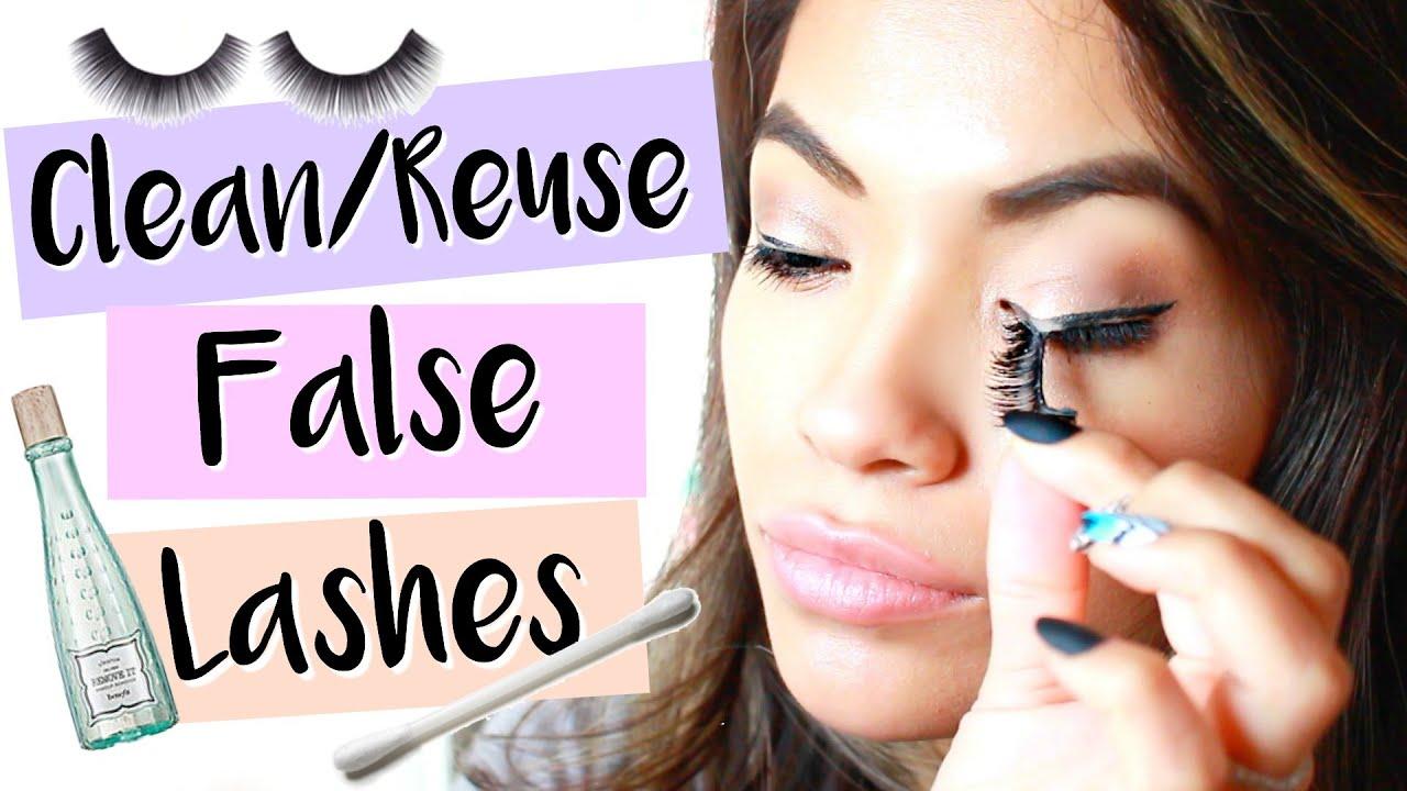 fd6db13eff3 How to Clean, Reuse, & Store False Lashes | Belinda Selene - YouTube