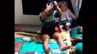 Baby fun| Tail malish | funny Baby Oil massage | funny Video
