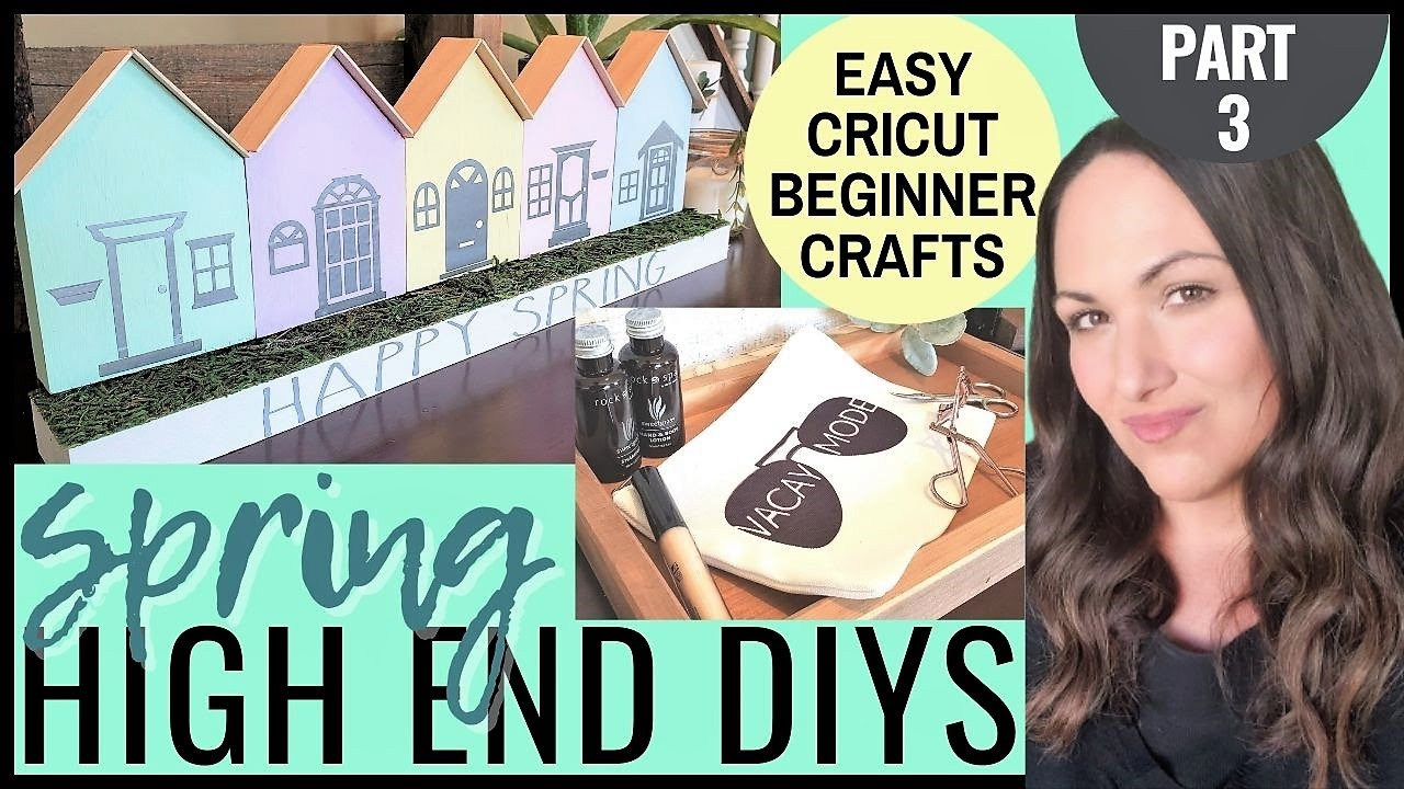 🟣 SPRING HOME DÉCOR CRAFTS | INFUSIBLE INK DIY | BEST BEGINNER PROJECTS USING CRICUT JOY