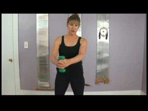 Pilates Free Weight Arm Exercises : Pilates Free Weight Exercise: Golf Swing
