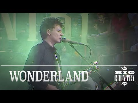 Big Country - Wonderland (The Tube, 17.02.1984) OFFICIAL