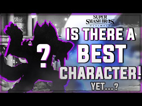 Why there is NOT a BEST character in Super Smash Bros. Ultimate yet thumbnail