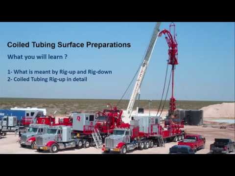 Coiled Tubing Surface Preparations