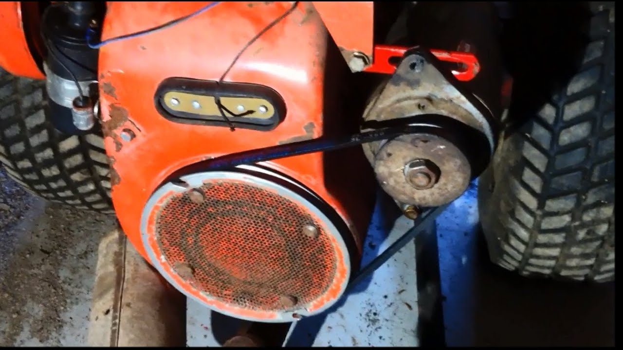 424 Gravely Update Part 2 Starter Generator Wiring And